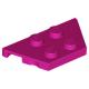 LEGO ék/szárny alakú lapos elem 2x4, bíborvörös (51739)
