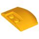 LEGO ék 3×4×2/3 íves tetején két bütyökkel, világos narancssárga (93604)