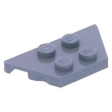 LEGO ék/szárny alakú lapos elem 2x4, homokkék (51739)