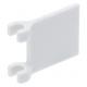 LEGO zászló 2×2, fehér (2335)