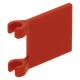 LEGO zászló 2×2, piros (2335)
