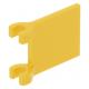LEGO zászló 2×2, sárga (2335)