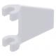 LEGO zászló 2×2 trapéz alakú, fehér (44676)