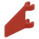LEGO zászló 2×2 trapéz alakú, piros (44676)